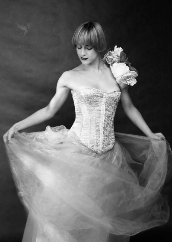 Daria - tancerka, w stylu vintage