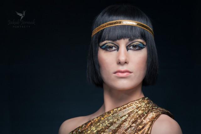 Daria w roli królowej Kleopatry
