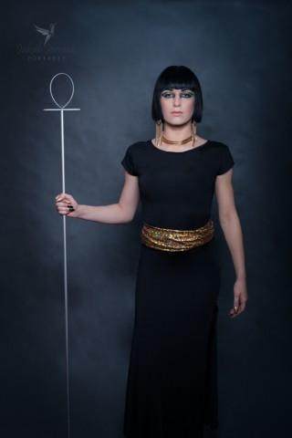 królowa Kleopatra Bogini