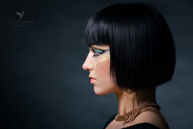Portret stylizowany - Kleopatra